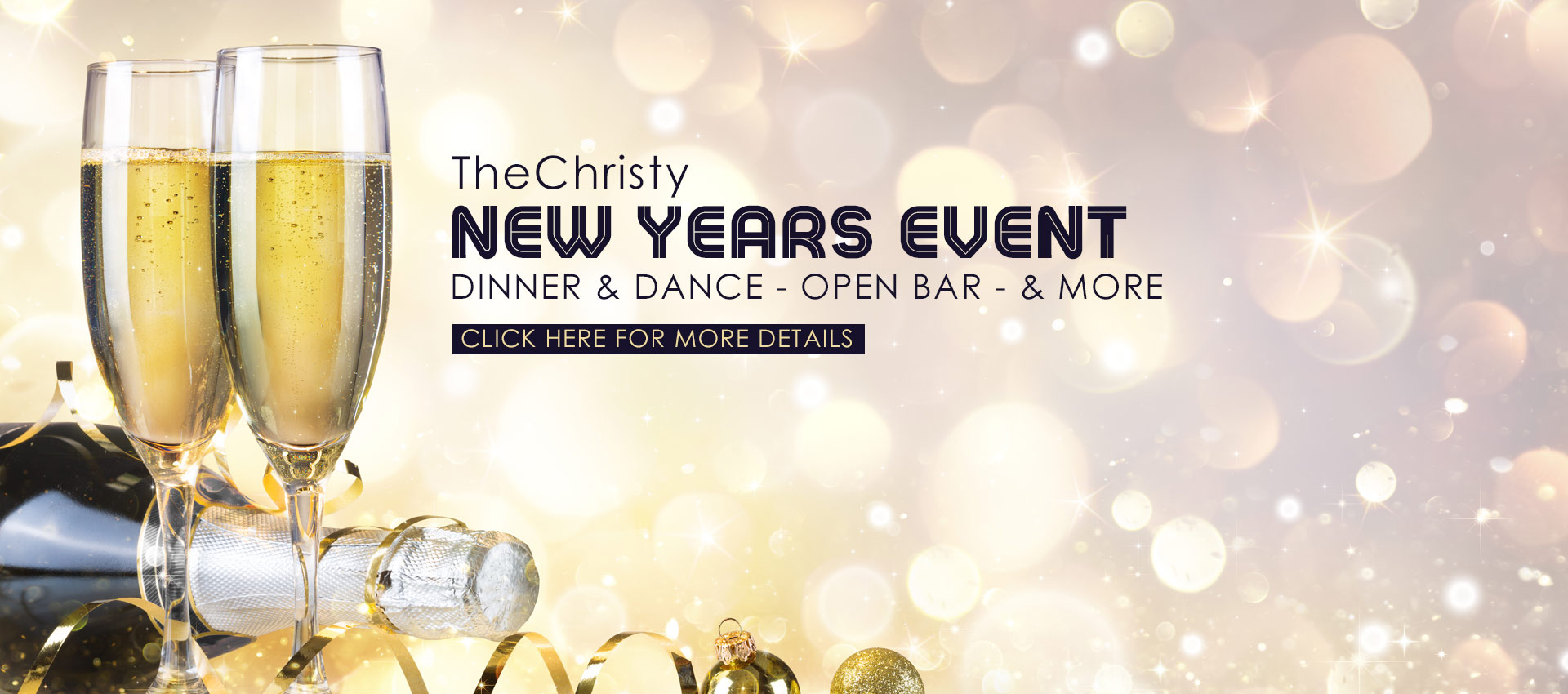 The Christy - New Years Eve Event