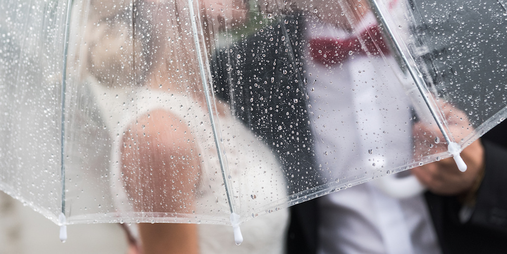 How To Prepare for Any Weather on Your Wedding Day