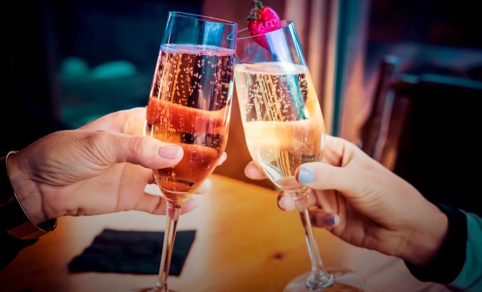 Champagne Toast, New Years Eve Celebration at The Christy