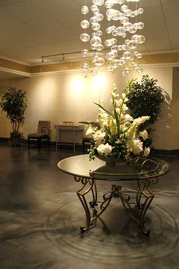 Lobby at The Christy, St. Louis