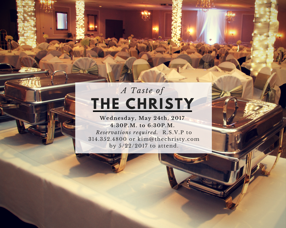 The Christy, May Tasting Event