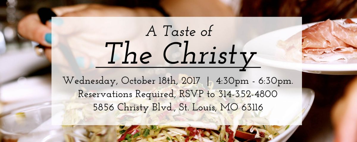 October 2017 Tasting at The Christy