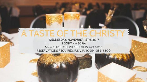 A Taste of The Christy, November Tasting Event