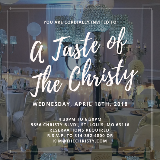 April Tasting by The Christy