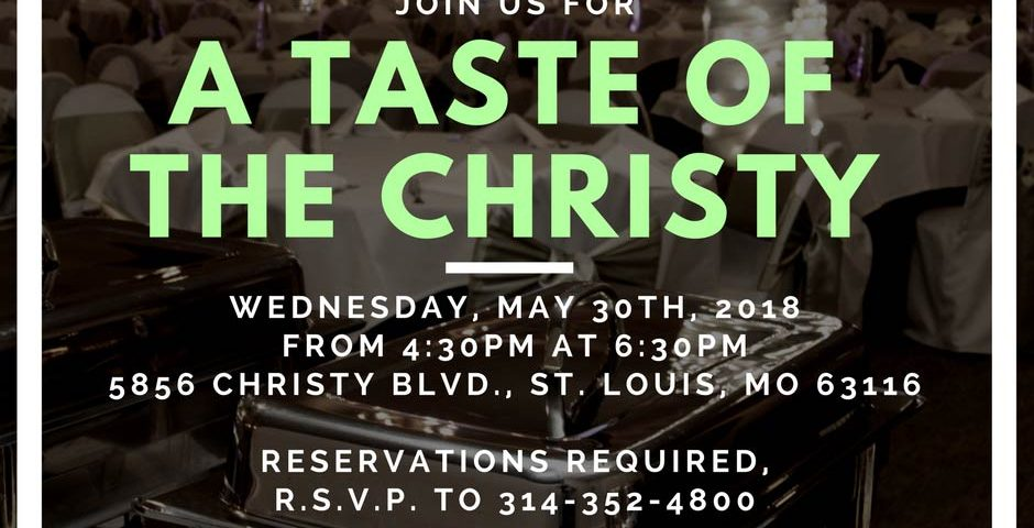 A Taste of The Christy, May Tasting