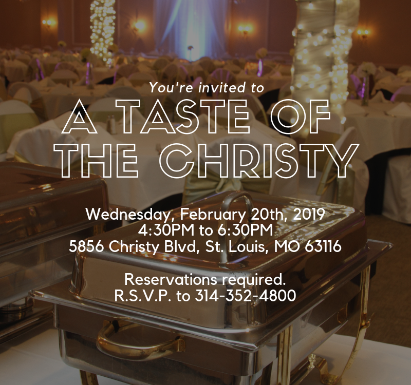 A Taste of The Christy February Event