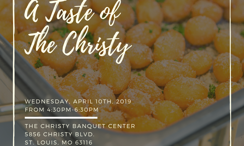 A Taste of The Christy April Event